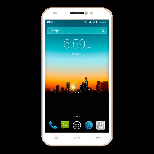 جوال POSH TITAN PRO HD شريحتين ذاكرة 8 جيجابايت، 4G LTE - ابيض