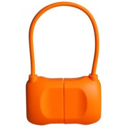بي كيو اي كيبل حقيبة LIGHTNING لآيفون 6 وآيفون 6 بلاس برتقالي