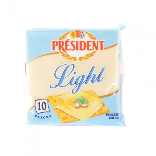 (بريزيدن - شرائح الجبنة 200 جم (10 شرائح