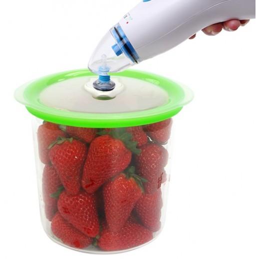 برايميرا وعاء شفط  لجهاز الاغلاق المحكم بشفط الهواء