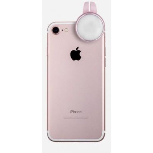 Momax X-Light Mini LED Selfie Light - Rose Gold
