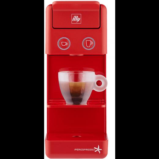 """إيلي – ماكينة القهوة والاسبرسو """"Ipso Home"""" – أحمر """" - يتم التوصيل بواسطة Al Hajeri"""