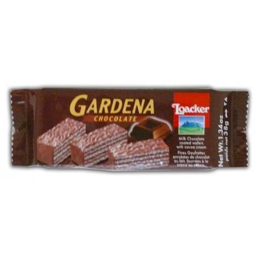 """لواكر – بسكويت ويفر """" جاردينا """" بالشوكولاتة 38 جم"""
