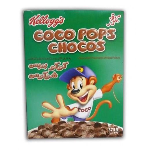 """كلوقز – حبوب إفطار القمح المقرمشة بنكهة الشوكولاتة """" كوكوبوبس شوكوس """" 375 جم"""