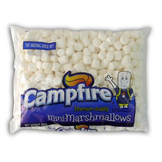 كامبفير – حلوى مارشمالو الخطمى صغيرة الحجم – بيضاء 300 جم