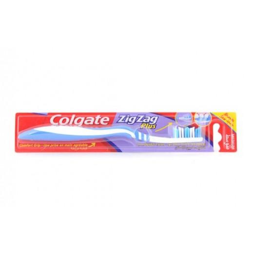 كولجيت - فرشاة اسنان متعرجة ومرنه مقاس متوسط