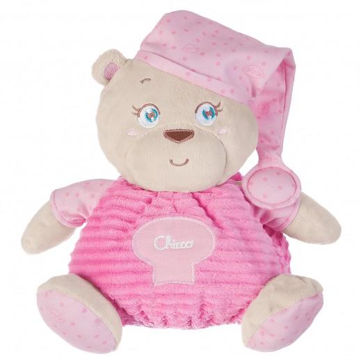 شيكو– دمية الدب الوردي للأطفال