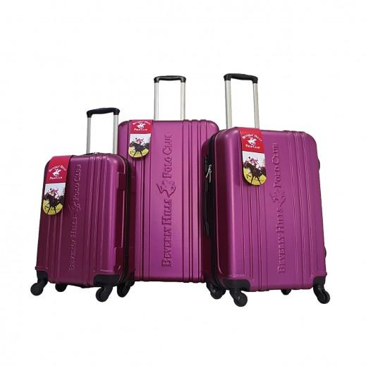 بولو - طقم حقائب سفر يونيتي 3 حبة - بنفسجي