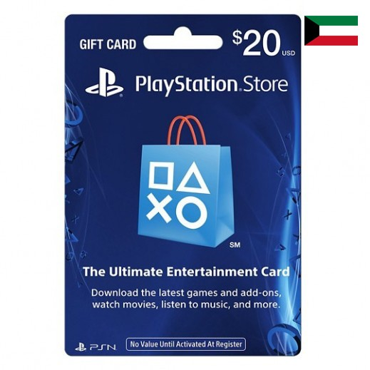 Sony - PlayStation Network Card $20 [Kuwait] - Delivered by Email