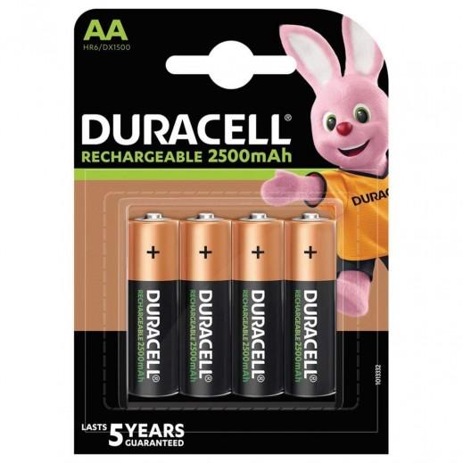 دوراسيل - بطاريات  AA القابلة للشحن - 4 حبات