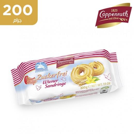 حلقات كوبنراث بالقمح وخالية من السكر ( 200 جم)