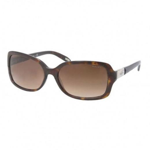 رالف – نظارة شمسية للسيدات لون هافانا/بني مقاس 58 ملم موديل RAL 5130 510 13