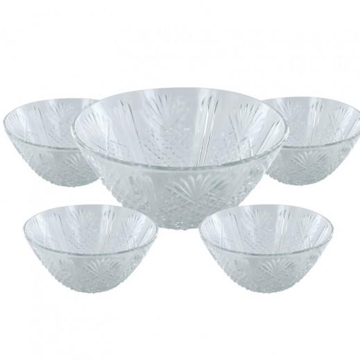 كوفيرتو – طقم أوعية زجاجية – 7 قطع