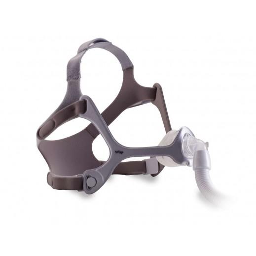 فيليبس ريسبرونكس – قناع التنفس مع غطاء رأس و3 وسائد - يتم التوصيل بواسطة التوصيل بعد يومين عمل  بواسطة العيسى