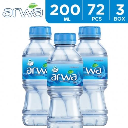 أروى – مياه شرب نقية 72 × 200 مل