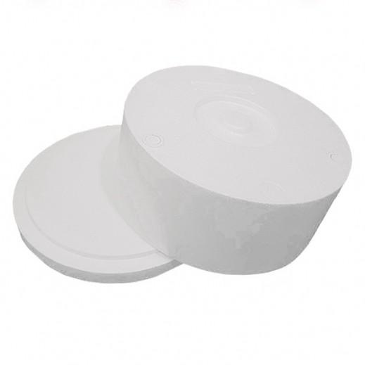كويت بوليمار - صندوق تبريد ستايروفوم دائري 34.5 × 16 سم
