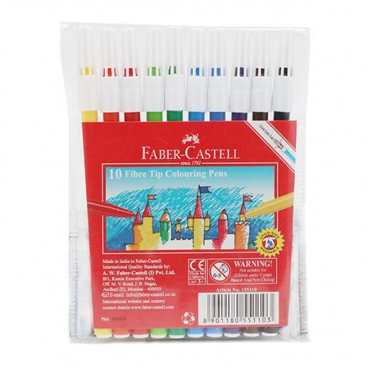 فابر كاستل – أقلام تلوين عادية  (10 قلم)