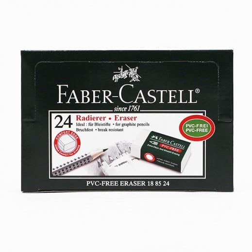 فابر كاستل – طقم ممحاة أبيض ( 24 حبة)