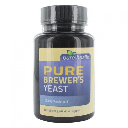 بيور هيلث – مكمل غذائي بخميرة البريوار (60 حبة)