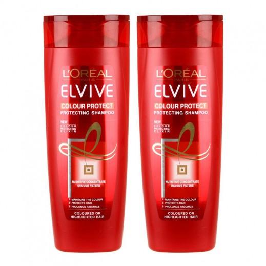 لوريل – شامبو لحماية لون الشعر 2 × 400 مل