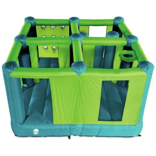 بلوم – لعبة نطاطية متعددة الغرف للأطفال (280 سم × 280 سم × 175 سم) - يتم التوصيل بواسطة يونيفيرسال تويز خلال 2 أيام عمل