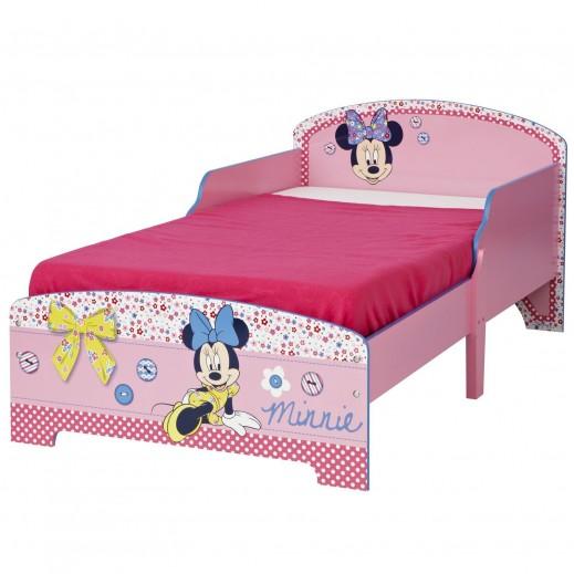 (MDF) سرير أطفال بتصميم ميني ماوس - يتم التوصيل بواسطة Taby Group