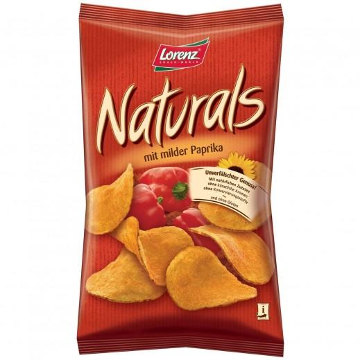 لورينز - رقائق بطاطا طبيعية خالية من الغلوتين بنكهة الفلفل الأحمر الحلو 100 جم