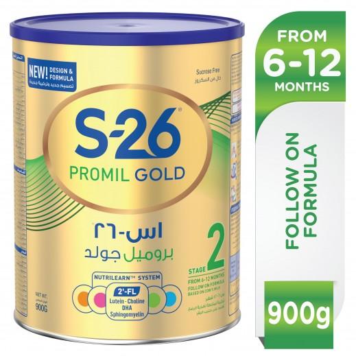 اس-26 – حليب (بروميل جولد) المرحلة 2 للرّضع 900 جم (من 6-12 شهر)