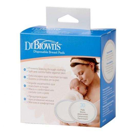 د.براون - مسحة طبية للصدر استخدام مرة واحدة 30 حبة