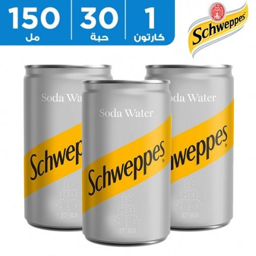شويبس – ماء الصودا 150 مل × 30 حبة