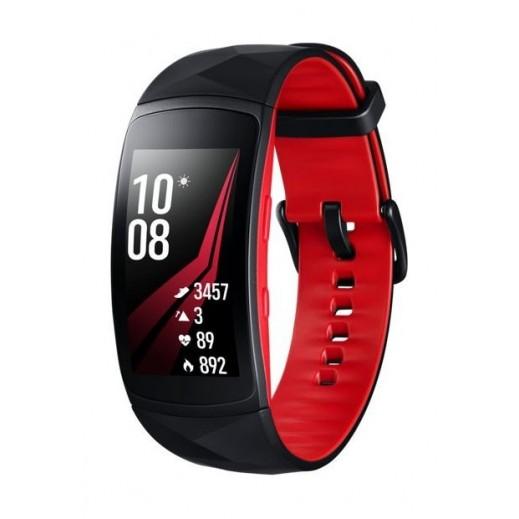 سامسونج – ساعة اللياقة البدنية جير فت 2 برو – كبير – احمر