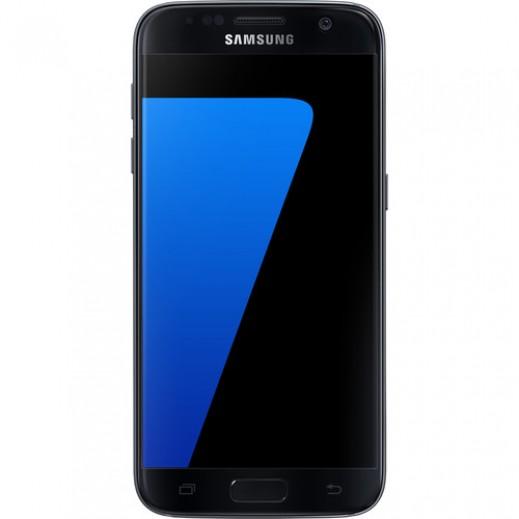سامسونج جالكسي S7 سعة 32 جيجابايت LTE أسود + بطاقة ذاكرة SD سعة 128 جيجابايت + جالكسي ENTERTAINER