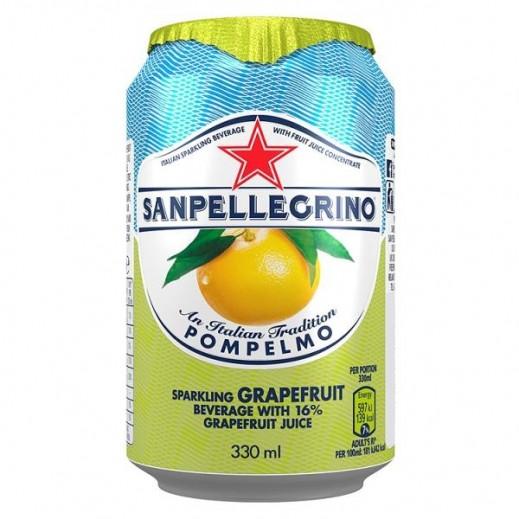 سان بيليغرينو – بومبلمو عصير جريب فروت فوار 330 مل
