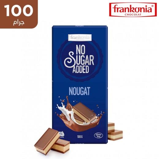 فرانكونيا شوكولاتة نوجا بالحليب خالية من الغلوتين والسكر المضاف 100 جم