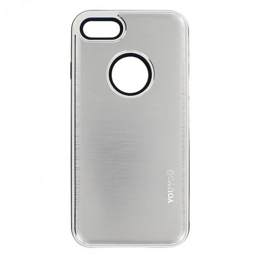 يويو – غطاء حماية خلفي لأي فون 7 – فضي
