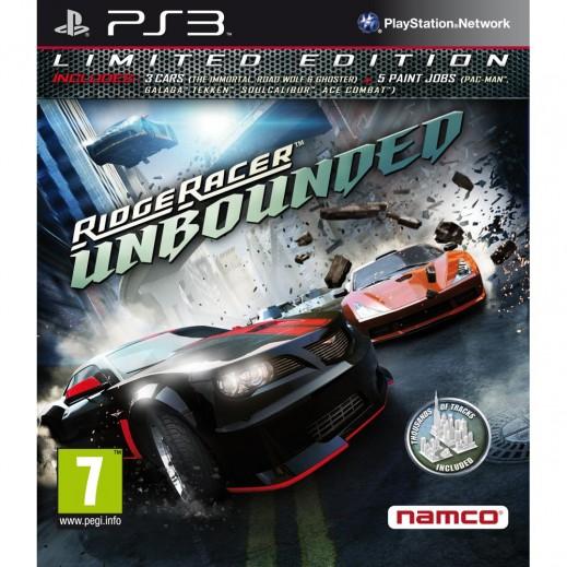 لعبة Namco Ridge Racer Unbounded - NTSC – بلاي ستيشن 3