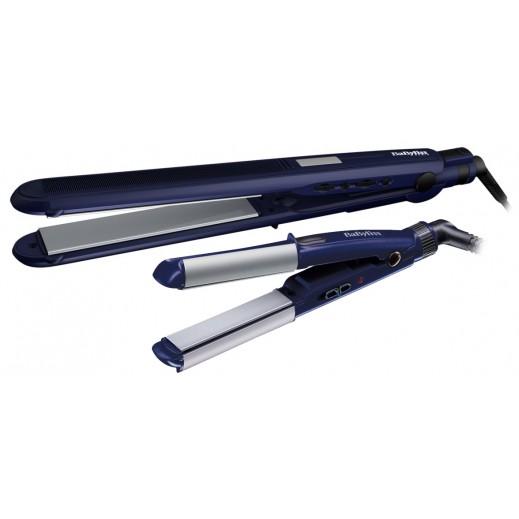 بابيليس – مُملس شعر نحيف + مُملس مُصغر لتجعيد الشعر موديل ST283PSDE