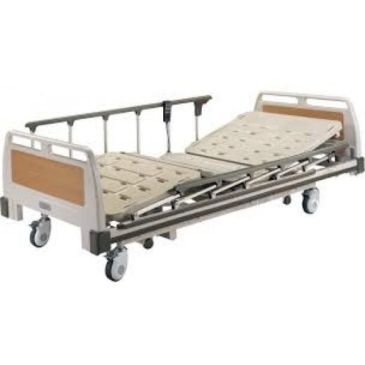 سيجما كير – سرير طبي كهربائي مع سكك جانبية وفراش سعة 150 كجم - يتم التوصيل بواسطة Al Essa Company