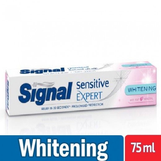 سيجنال - معجون أسنان للأسنان الحساسة للتبييض 75 مل
