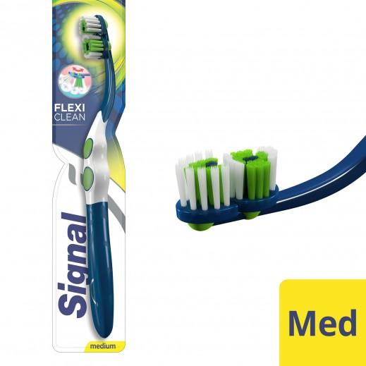 سيجنال - فرشاة أسنان فليكسي كلين متوسّطة