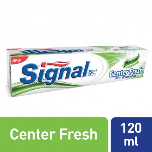 سيجنال - معجون أسنان مركز الانتعاش الأخضر 120 مل