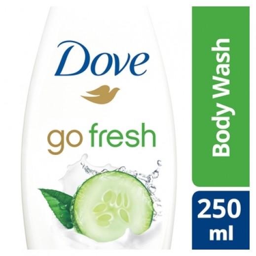 دوڤ - مجموعة الانتعاش غسول الجسم بالخيار 250 مل