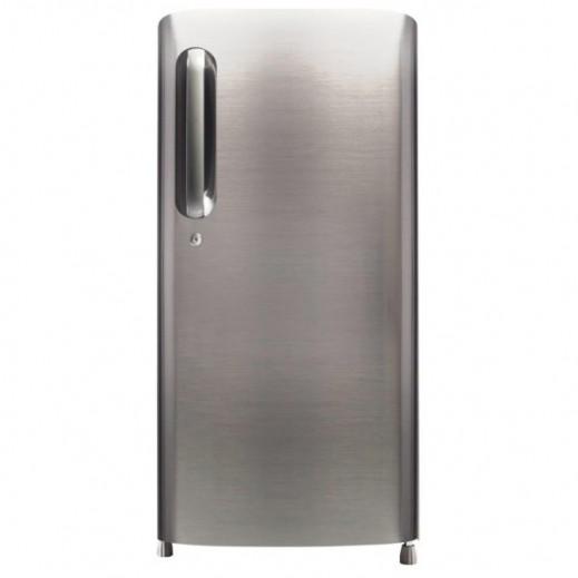 إل جي – ثلاجة باب واحد 8.1 قدم – لون معدني لامع - يتم التوصيل بواسطة Al Babtain Electronics Company