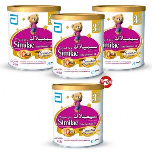 """اشتري سيميلاك - حليب أطفال """"توتال كومفورت"""" 360 جم (1-3 ..."""