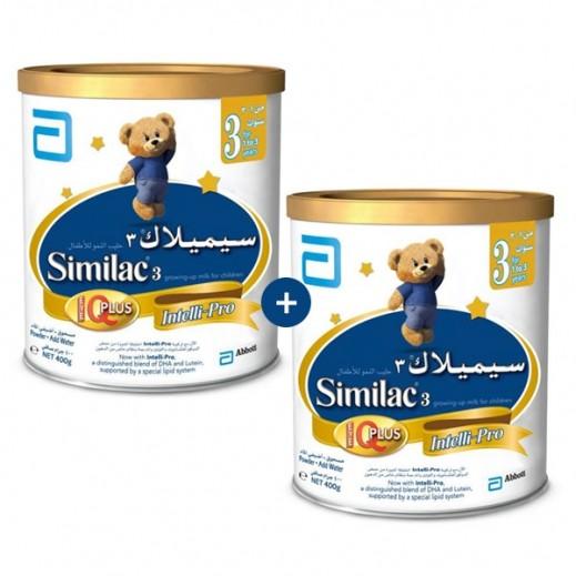 سيميلاك – طعام للأطفال أي كيو بلس 400 جم مرحلة 3 (1- 3 أعوام) - 1+1 مجانا (عرض خاص)