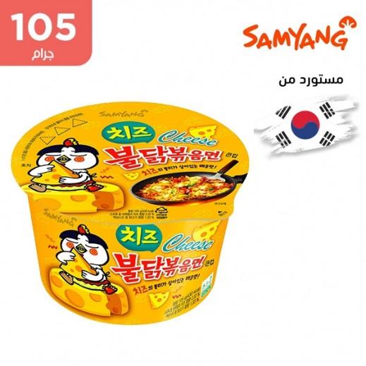 ساميانج – شعيرية نودلز رامن الحارة بنكهة الدجاج والجبنة 105 جم