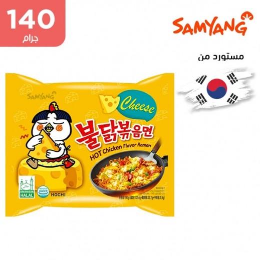 ساميانج – شعيرية نودلز رامن الحارة بنكهة الدجاج والجبنة 140  جم