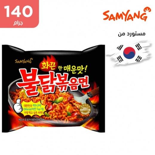 ساميانج – شعيرية نودلز رامن الحارة الأصلية بنكهة الدجاج  140 جم