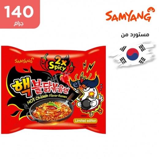ساميانج – شعيرية نودلز رامن الحارة بنكهة الدجاج 140 جم