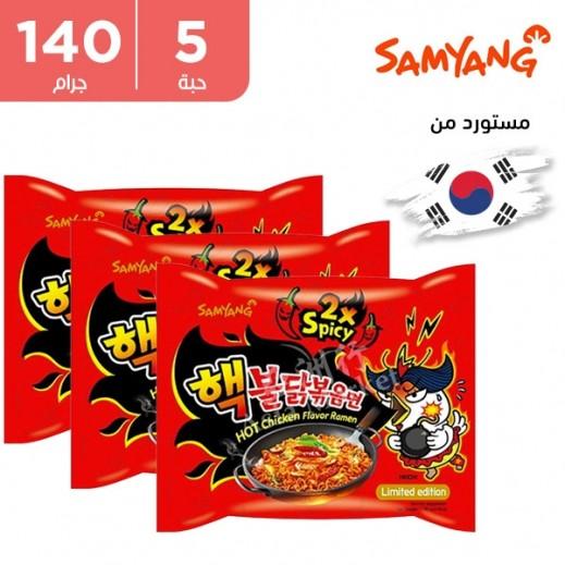 Samyang Hot Chicken Ramen 5 x 140 g